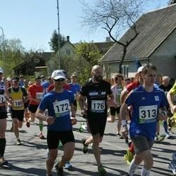 33. Tartu Jooksumaraton - Ergo Meier (172), Alo Alunurm (176), Aleksei Panarin (313)