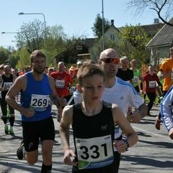 33. Tartu Jooksumaraton - Aare Viitkin (269), Andre Viitkin (331)