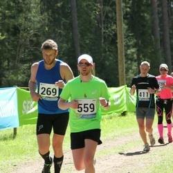 33. Tartu Jooksumaraton - Aare Viitkin (269), Erik Jõgi (411), Rainer Lepik (559)