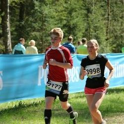 33. Tartu Jooksumaraton - Agnes Reiska (8998), Mattias Rootalu (9177)