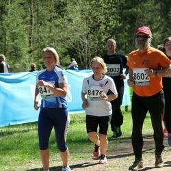 33. Tartu Jooksumaraton - Katrin Bortnik (8476), Aare Tinn (8602)