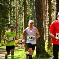 33. Tartu Jooksumaraton - Kalev Vunk (334), Björn Puna (613)