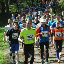 33. Tartu Jooksumaraton - Rando Täär (8024), Katrin Lemsalu (8234), Aavo Kergand (9321)