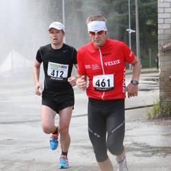 40. jooks ümber Ülemiste järve - Gery Einberg (412), Arno Bachaus (461)