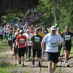 33. Tartu Jooksumaraton - Tõnis Piir (9547), Hanno Kroon (9638), Berit Kroon (9639)