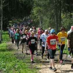 33. Tartu Jooksumaraton - Berit Kroon (9639), Laidi Kiigemägi (9891)
