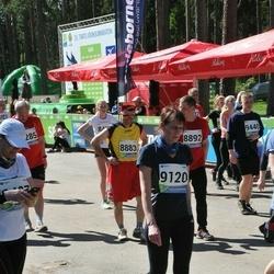 33. Tartu Jooksumaraton - Aare Allaje (8883), Kaili Tamm (9120)