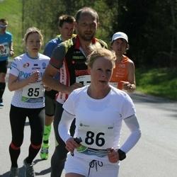 33. Tartu Jooksumaraton - Annika Vaher (85), Maie Kuusik (86)