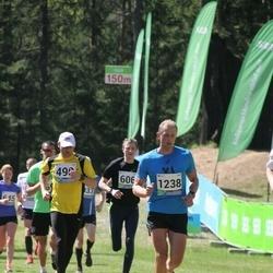 33. Tartu Jooksumaraton - Jaan Sibul (490), Andre Pukk (1238)