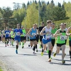 33. Tartu Jooksumaraton - Sander Hannus (17), Bert Tippi (21), Olari Orm (26), Viktor Gromov (39), Janno Metsapool (79)