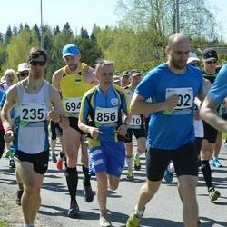 33. Tartu Jooksumaraton - Tiit Lepik (235), Ivar Sova (402), Aare Piire (552), Ago Käis (856), Alo Lõoke (1595)