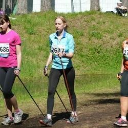 33. Tartu Jooksumaraton - Brett Hiielo (2647), Triin Toomeste (2686), Madli Uin (2724)
