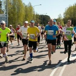 33. Tartu Jooksumaraton - Ivar Heinola (239), Lauri Tõnise (458), Andre Pukk (1238)