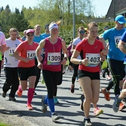 33. Tartu Jooksumaraton - Aare Sepp (1164), Merle Mägi (1309), Annika Altoja (1403), Pille Selter (1432)