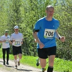 33. Tartu Jooksumaraton - Rein Vares (706), Alar Lehesmets (721)