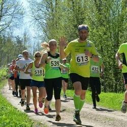 33. Tartu Jooksumaraton - Evelin Märtson (539), Björn Puna (613)