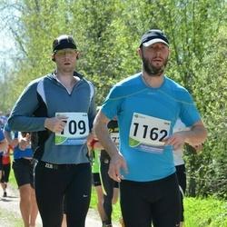 33. Tartu Jooksumaraton - Aarne Vasarik (709), Teemar Hiir (1162)