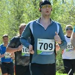 33. Tartu Jooksumaraton - Aarne Vasarik (709), Indrek Ränd (1030)
