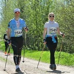 33. Tartu Jooksumaraton - Aarne Tiit (2544), Margit Tiit (2545)