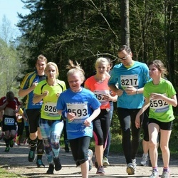 33. Tartu Jooksumaraton - Bianca Mehine (8260), Laura Tamm (8593)
