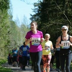 33. Tartu Jooksumaraton - Anna Maria Võsu (8317), Sille Kraam (8326), Merili Saage (8590)