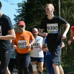 33. Tartu Jooksumaraton - Aare Tinn (8602), Gert Silm (9360)