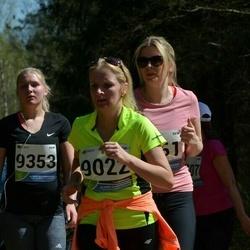 33. Tartu Jooksumaraton - Reelika Käis (9022), Annete Kulakovski (9161), Anastassia Karjagina (9353)
