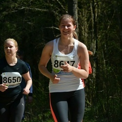 33. Tartu Jooksumaraton - Ailen Mälgi (864), Annika Uus (8650)