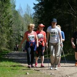 33. Tartu Jooksumaraton - Anneli Toming (9130), Ain Kaha (9131), Dace Martinsone (9643)