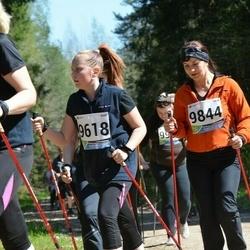33. Tartu Jooksumaraton - Annette Volostsuk (9618), Heli Reimann (9844)