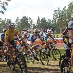Samsung Estonian Cup 7. etapp Jõulumäe - Madis Sildvee (212), Aare Palm (290), Janar Mees (297)