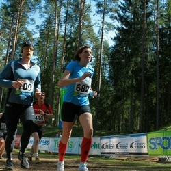 33. Tartu Jooksumaraton - Inge Joonas (682), Aarne Vasarik (709)