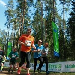 33. Tartu Jooksumaraton - Artur Jürimäe (1179), Jarmo Kälvijäinen (1456), Mart Reinson (1625), Ragnar Kekkonen (2052)