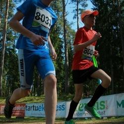 33. Tartu Jooksumaraton - Armin Angerjärv (8004), Aleksander Tamm (8031)