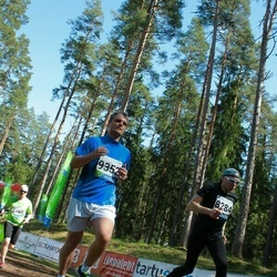 33. Tartu Jooksumaraton - Aivar Kudak (8284), Ando Ling (9352)