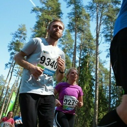 33. Tartu Jooksumaraton - Kai Kaseväli (9279), Artjom Kesvatera (9340)