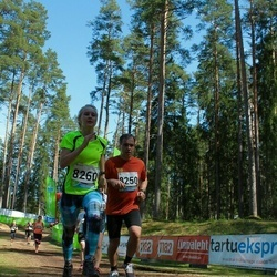 33. Tartu Jooksumaraton - Janno Joost (8250), Bianca Mehine (8260)