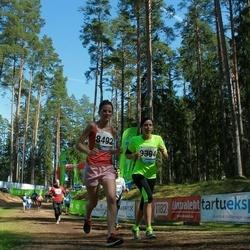 33. Tartu Jooksumaraton - Anna-Liisa Pehlak (8492), Ketlin Edela (9394)