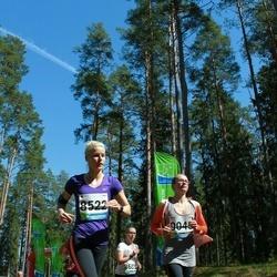 33. Tartu Jooksumaraton - Annika Aruots (8522), Merle Pent (9045)