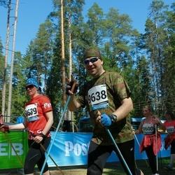 33. Tartu Jooksumaraton - Hanno Kroon (9638), Berit Kroon (9639)
