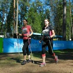 33. Tartu Jooksumaraton - Lisette Vunder (9785), Anneli Väljan (9787)