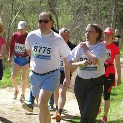 33. Tartu Jooksumaraton - Jaan Laks (8775), Anneli Toming (9130)