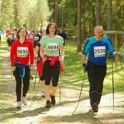 33. Tartu Jooksumaraton - Arne Merilai (2539), Kersti Hansen (9694), Heiki Hansen (9695)