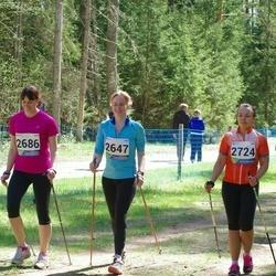 33. Tartu Jooksumaraton - Brett Hiielo (2647), Triin Toomeste (2686), Madli Uin (2724), Kaisa Püi (8671)