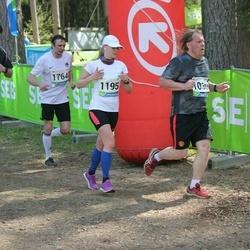 33. Tartu Jooksumaraton - Madis Mere (910), Indrek Ränd (1030), Anni Niidumaa (1195), Markus Arak (2004), Meelis Laansalu (5025)