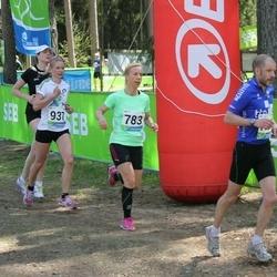 33. Tartu Jooksumaraton - Luise Puu (783), Annika Vaiksaar (937)