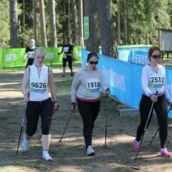 33. Tartu Jooksumaraton - Moonika Otsa (1918), Kaili Roio (2517), Annika Põlgast (9626)