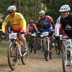 18. Tallinna Rattamaraton - Vaido Tamm (239), Anders Eensalu (289), Sven Elur (292)