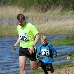 44. jooks ümber Harku järve - Armand Kabrits (132), Tomi Sepamägi (585)