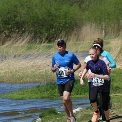 44. jooks ümber Harku järve - Laura Lillepuu (323), Javier Ortiz De Artinano (447)